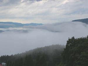 ホテルシェーヌ木島平:*ホテルから見える雲海