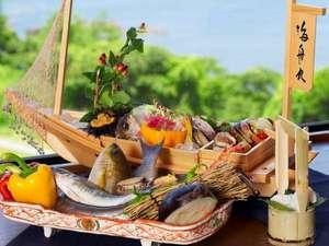 南紀白浜 浜千鳥の湯 海舟:南紀の新鮮な海の幸をご堪能頂けます。写真はイメージです♪