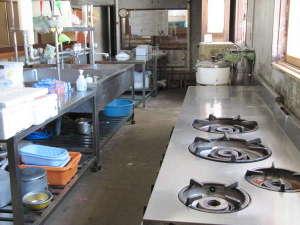 摩周湖ユースホステル:自炊設備、ご利用希望の方はお気軽にお申し出下さい。