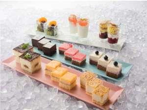 ベッセルイン札幌中島公園:デザートも充実の朝食ビュッフェ♪