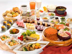 ベッセルイン札幌中島公園:北海の幸、和洋ともに充実した朝食ビュッフェ♪デザートもパワーアップ!