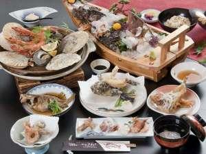 旅館さわき:毎朝、島の漁師から直接仕入れた新鮮な瀬戸内の海の幸をふんだんに使った会席料理◎