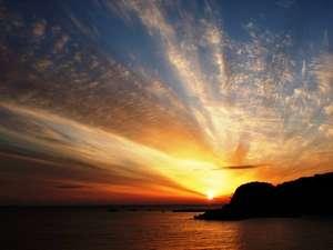 大浜の夕景