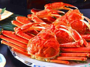 あしずり温泉郷 足摺パシフィックホテル花椿:冬の味覚の王様と言ったらやっぱり蟹ですよね♪