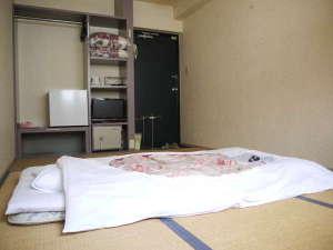 ビジネスホテル あおば:和室6畳(1~2名様用)