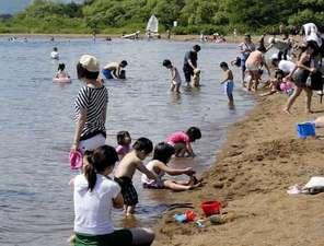 会津志田浜温泉 猪苗代湖畔の宿 レイクサイド磐光