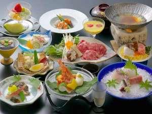 宮島ホテルまこと:料理グレードアッププラン夏のイメージ