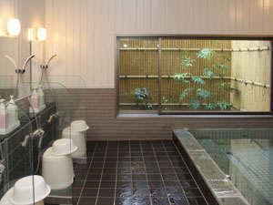 伊勢崎平成インあかぎ:女性大浴場。ご利用時間15:00~24:30、5:30~10:00