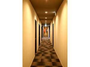 島の宿 ごとう屋:廊下