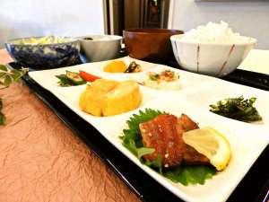 島の宿 ごとう屋:朝食の例:五島の食材を使ったとてもおいしい朝ごはんです。