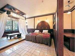 全室「岩盤浴」「露天風呂」付。16畳~26畳と寛ぎの広さ。