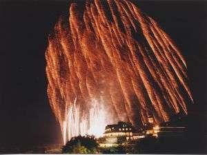 夏の風物詩「りんどう湖ファミリー牧場花火大会」です!今年はどんな夏の思い出が出来るでしょうか。