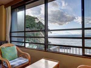 江の島の歴史を伝える宿 岩本楼本館:*湘南海岸ビュー和室
