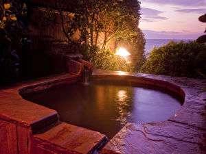 海一望貸切露天風呂が無料の宿 片瀬館 ひいな:無料サービスの貸切露天風呂 4種類ありますので、お好きなのを何度でもご利用くださいませ。