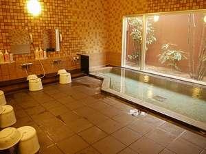 ホテルルートイン御前崎:ラジウム人工温泉大浴場。広々としたお風呂で脚を伸ばして、疲れもすっきり!