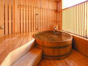 海辺のお宿 一久:海の原・木樽露天風呂