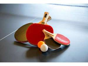 湯快リゾート 嬉野温泉 嬉野館:卓球コーナー