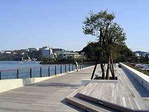 周辺観光:鳥羽湾が一望できる「カモメの散歩道」