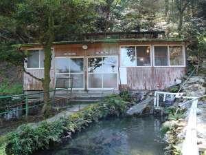湯川内温泉かじか荘:*【上の湯(外観)】当館には上の湯と下の湯があり、宿泊棟とは別棟になります。