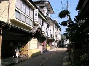 江戸時代からある日本家屋。純和風の造りは外国人観光客に人気上々。