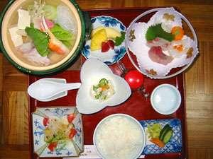 湯治用のお食事一例です。長期滞在の方も多い為、メニューは日替わりです♪※写真はイメージ