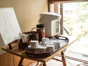 *【インスタントコーヒー】無料のコーヒーをご用意しております。