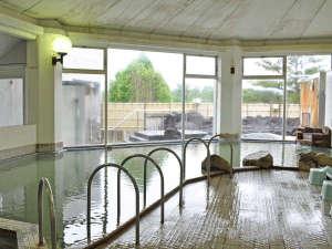 ながぬま温泉:【入浴設備】塩分が高く、優れた泉質が体を心から温めてくれます。
