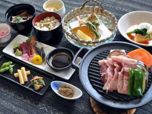 ながぬま温泉:【ご夕食】ながぬまの膳一例