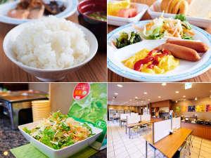 スーパーホテルさいたま・大宮 天然温泉 さくらの湯:無料健康朝食で元気にご出発を♪