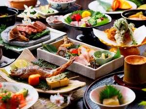 高千穂 離れの宿 神隠れ:御夕食「山里郷土料理」Dinner