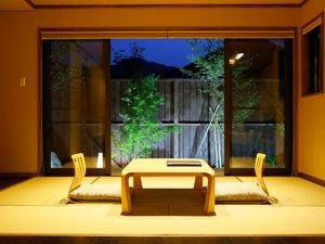 高千穂 離れの宿 神隠れ:山吹~露天風呂付き和洋室~Yamabuki