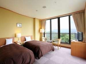 オテル・ド・摩耶:客室 - ツインルーム ※間取りが異なる場合がございます。