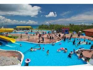 ユインチホテル南城:屋外レジャープール・幼児用プールもあります★