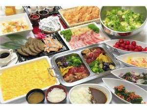 時之栖 SPA&HOTEL天神の湯:朝食バイキングのイメージです。