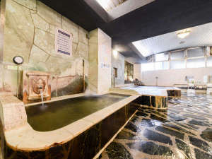 カプセル&サウナロスコ(旧カプセルイン駒込):*【内湯浴場一例】地下数百メートルから湧き出る100%天然高品質ミネラルウォーターを使用