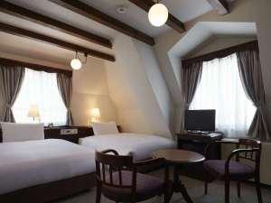松本ホテル花月:旧館 スタンダードツインルーム