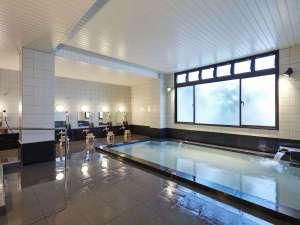 松本ホテル花月:男性大浴場 深志の湯