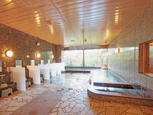 ホテルモナーク鳥取:鳥取温泉の源泉を使用した大浴場
