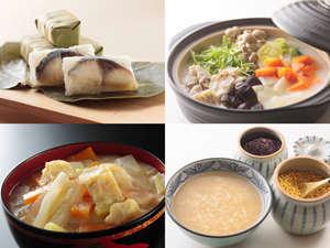 ホテル日航奈良:朝食バイキングには、興福寺粕汁や柿の葉寿司など奈良名物もご用意!