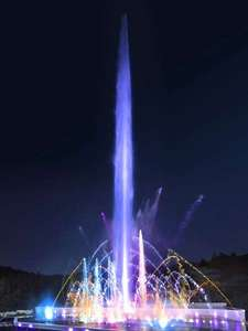 御殿場高原リゾート 時之栖(ときのすみか):時之栖で開催中の噴水ショー「ヴェルサイユの光」