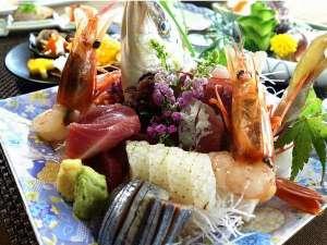 北茨城ロハス 磯原シーサイドホテル:~*新鮮魚介の盛合せ*~(お写真は2名様盛り♪)