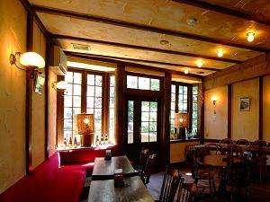 元湯玉川館:【カフェ こもれび】山間ののんびりとした時間をお楽しみください