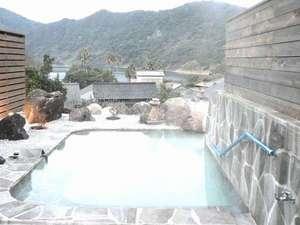 民宿 うなぎ湖畔:露天風呂(混浴)