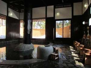 祭畤温泉(まつるべ温泉) かみくら :大浴場