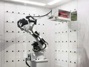 変なホテル【ハウステンボス】:ロボットロッカー