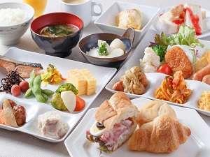 三井ガーデンホテルプラナ東京ベイ:朝食メニュー(一例)