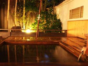 四季感じる自然庭園と天然温泉 柳屋:組数限定★貸切露天風呂~竹の葉~夜は星を眺めながら☆彡