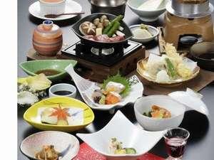 出雲のホテル 武志山荘:ちょっとグレードUP!会席プラン 「すさのお」料理イメージ
