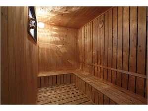別府鉄輪温泉 ホテル日生や:温泉の蒸気熱を利用した檜作りのサウナ