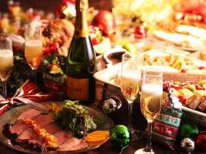 草津温泉 ホテル櫻井:【夕膳/バイキング】12/8~12/25期間限定開催★クリスマスフェア ※イメージ